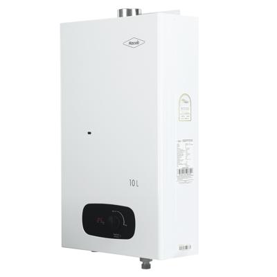 Image for Calentador de agua Bambú 10 litros Haceb de paso a gas natural tiro forzado blanco