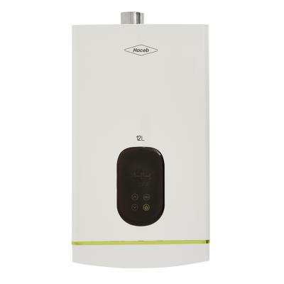 Image for Calentador modulante Coral de agua 12 litros Haceb de paso a gas natural tiro forzado blanco