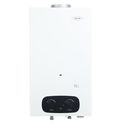 Image for Calentador de agua Bambú 10 litros Haceb de paso a gas natural tiro natural blanco