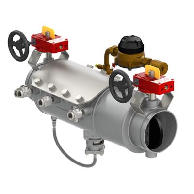 รูปภาพสำหรับ Low Head Loss Stainless Steel Reduced Pressure Detector Type II Assemblies with Integral Butterfly or OSY Shutoffs - Deringer 50X/50GX