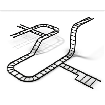 Image for Curved Runway Fitting, Outside