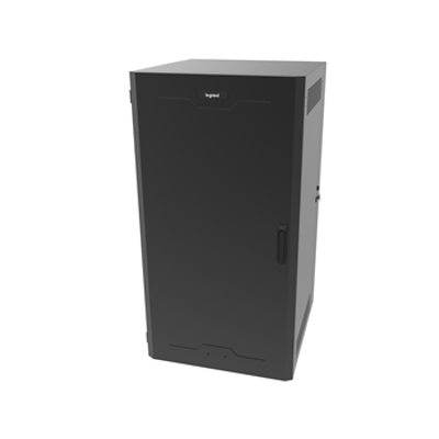 Image for 18RU, Swing-Out Wall-Mount Cabinet, Solid Door