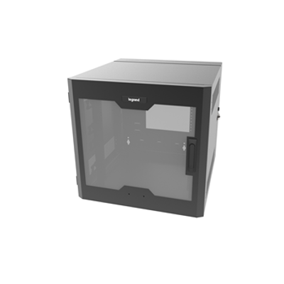 Image for 12RU, Swing-Out Wall-Mount Cabinet, Plexi Door
