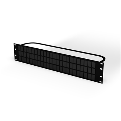 Image for Clarity® Rear-Load Jack Patch Panel Kits, Flat, Category 5e, 6, 6a