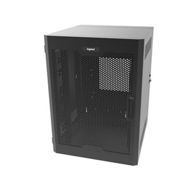 Image for 18RU, Swing-Out Wall-Mount Cabinet, Perforated Door
