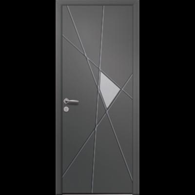 imazhi i Porte d'entrée en aluminium Passage – Modèle Hibiscus