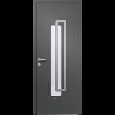 Image for Porte d'entrée en aluminium Passage – Modèle Bleuet 1