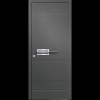 Image for Porte d'entrée en aluminium Passage – Modèle Basalte