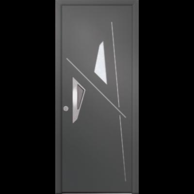 Image for Porte d'entrée en aluminium Passage – Modèle Bauxite 1