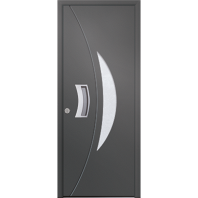 Image for Porte d'entrée en aluminium Passage – Modèle Silice 1