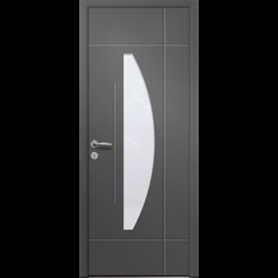 Image for Porte d'entrée en aluminium Passage – Modèle Auburn 1