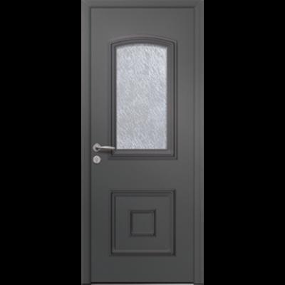 Image for Porte d'entrée en aluminium Passage – Modèle Capella 1L