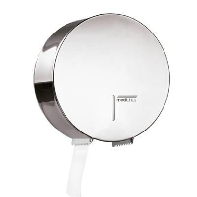 Image for Industrial stainless steel toilet roll paper dispenser Ø 275 mm