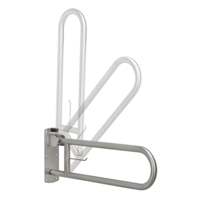 Image for Vertical stainless steel swing grab bar