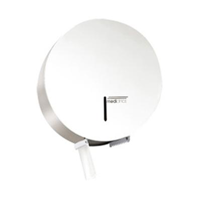 Image for Industrial steel toilet roll paper dispenser Ø 230 mm