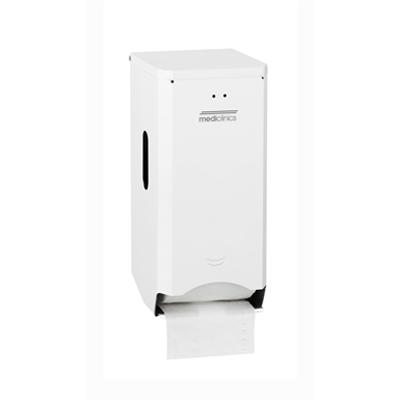 Image for Standard steel toilet 2 rolls paper dispenser