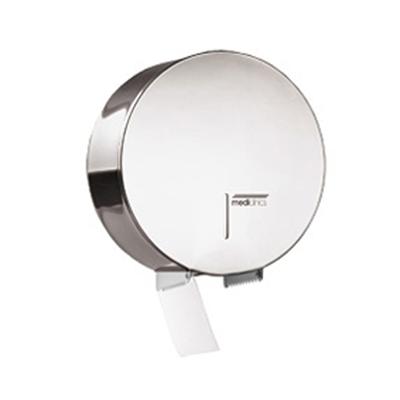 Image for Industrial stainless steel toilet roll paper dispenser Ø 230 mm