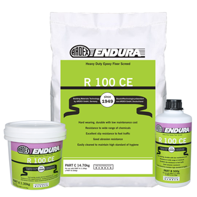 Image for R 100 CE - Heavy duty epoxy floor screed