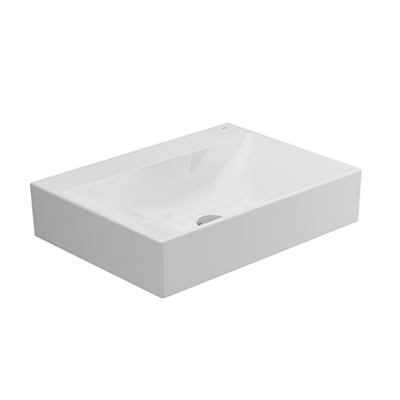 Image for ALBUS Without tap-hole Over-counter Wash-basin 60x45 cm.
