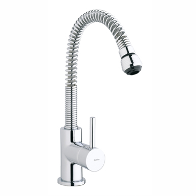 Image for Tub Single lever kitchen mixer. Flexible and rotating spout.