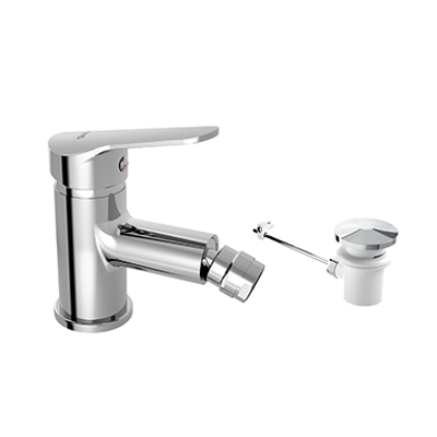 Image for ARLAN Single lever bidet mixer with automatic waste