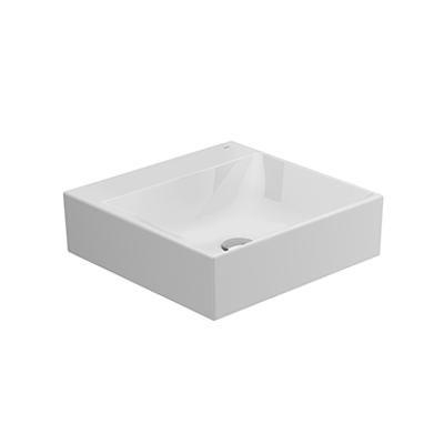 Image for ALBUS Without overflow Overcounter Wash-basin 45x45 cm.