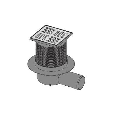 画像 Gala-Drain SQ Integrated drainage kit 105