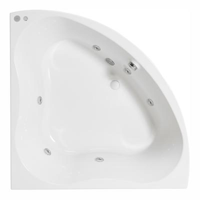Image for Trevo Corner hydromassage bath water. 1350x1350 mm.