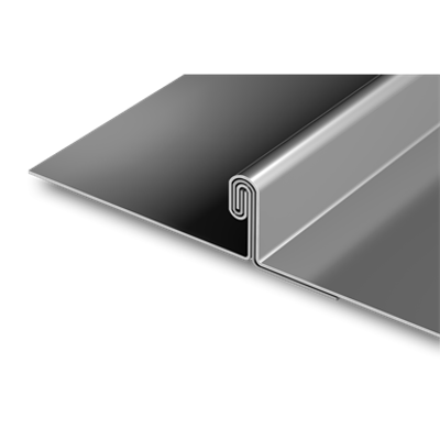 Image for PAC-150 180° Double Lock metal roof panel