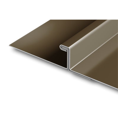 Image for PAC-150 90° Single Lock metal roof panel