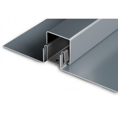 Snap-On Batten Standing Seam metal roof panel için görüntü