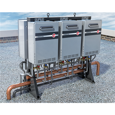 Image for Commercial Tankless System - Free Standing