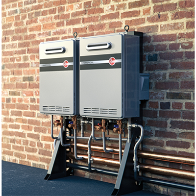 Image for Commercial Tankless System - Wall Mounted