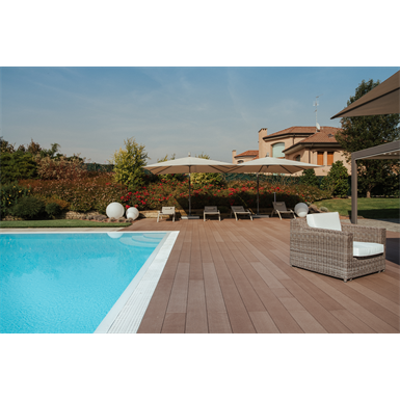 Image for WPC decking profile 140x21 mm
