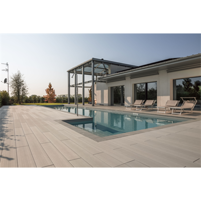 Image for WPC decking profile 200x21 mm