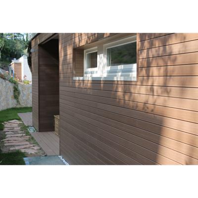 bild för WPC wall cladding profile 75x15 mm