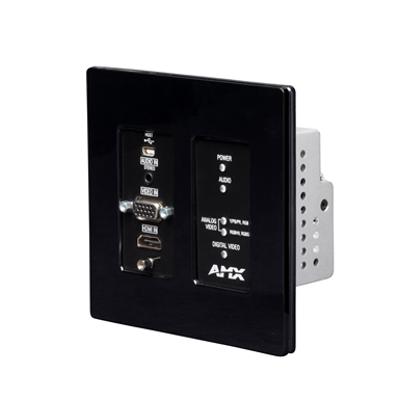 Image pour NMX-ENC-N2315-WP Wallplate Encoder N2300 Series 4K UHD Video Over IP Decor Style Wallplate Encoder with KVM, PoE