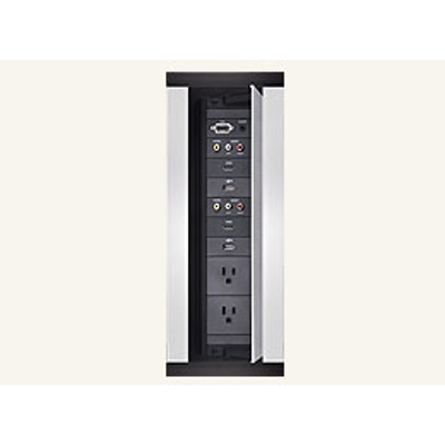 kuva kohteelle HPX-600, HPX-900, HPX-1200 6, 9 or 12 Module Connection Ports, Space for up to 6, 9 or 12 Modules