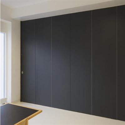 Image for Habila 120 folding walls single door edge hung 100mm