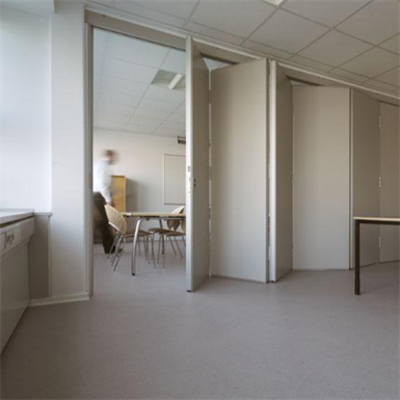 Image for Habila 120 folding walls double door center hung 100mm El60