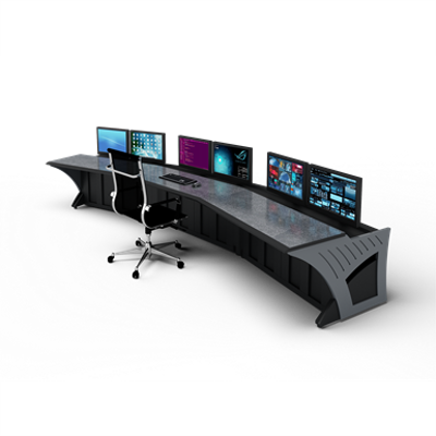"""Image for Prestige Sight-Line Consoles - 48"""" stations, 15°"""