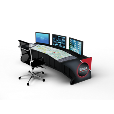 """Image for Prestige Sight-Line Consoles - 24"""" stations, 15°"""