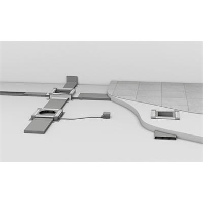 Image for Screed-covered trunking system UK