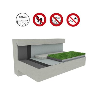 Systems for Green roof concrete için görüntü