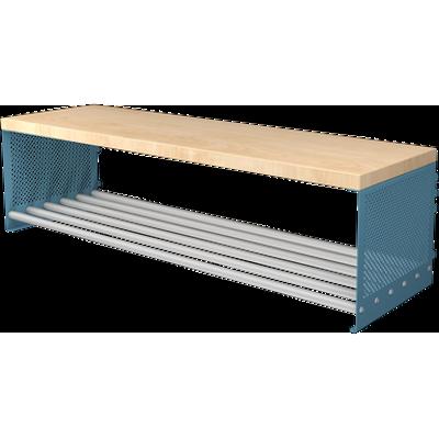 billede til Bench With Shoe Shelf RT 750