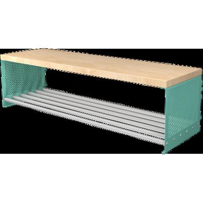 billede til Bench With Shoe Shelf RT 600