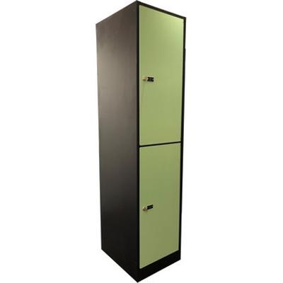 billede til 2-Compartment Locker Laminate Door W:300 D:500 H:1700