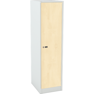 billede til Student Clothing Locker Laminate Door W:300 D:500 H:1500
