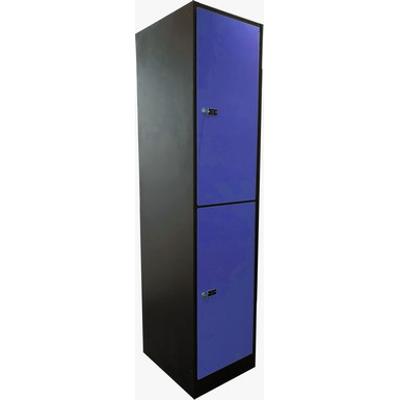 billede til 2-Compartment Locker Laminate Door W:400 D:500 H:1700