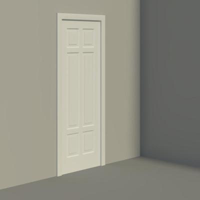 Image for Panel Doors - 6 Panel Design